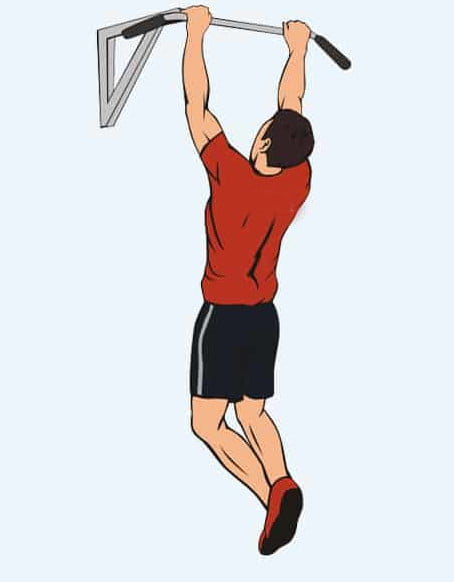 Вис на перекладине - основное упражнение чтобы вырасти в домашних условиях